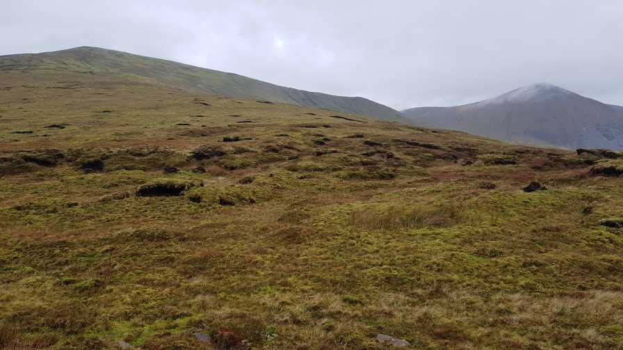 MountainViews.ie Picture about mountain Birreencorragh (<i>Birín Corrach</i>) in area Nephin Begs, Ireland