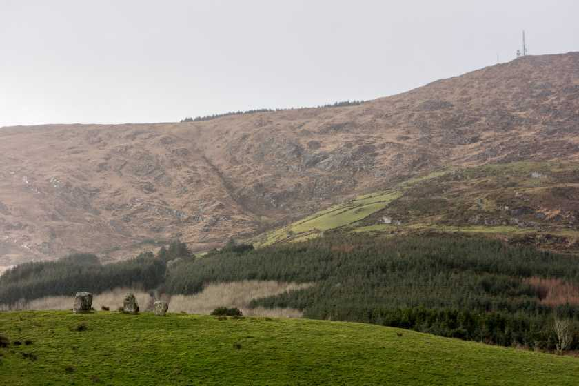 MountainViews.ie Picture about mountain Pookeen North Top  in area West Cork Mountains, Ireland