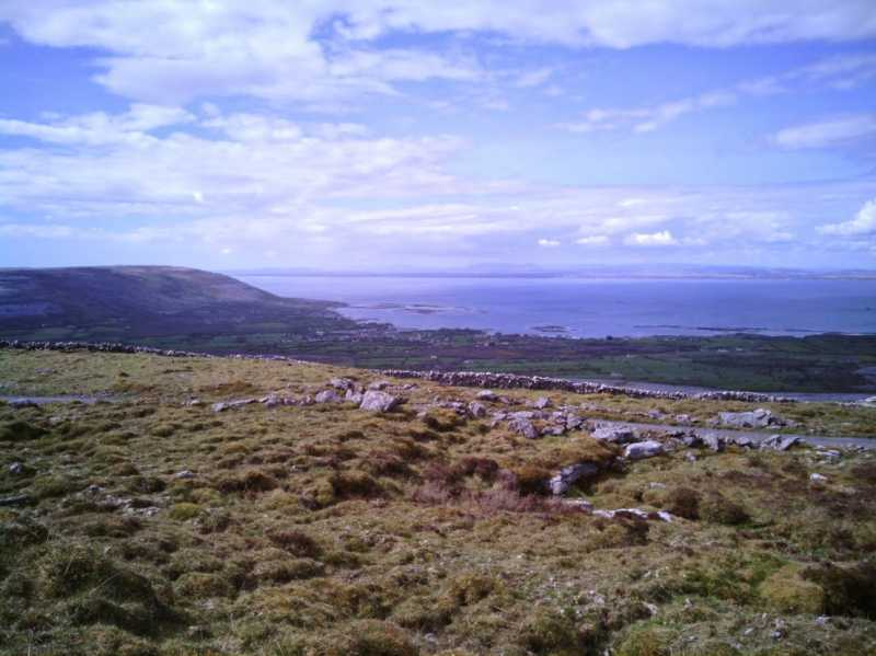 MountainViews.ie Picture about mountain Aillwee in area West Clare, Ireland
