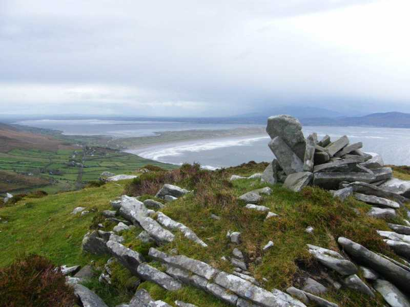 MountainViews.ie Picture about mountain Knockafeehane in area Slieve Mish, Ireland