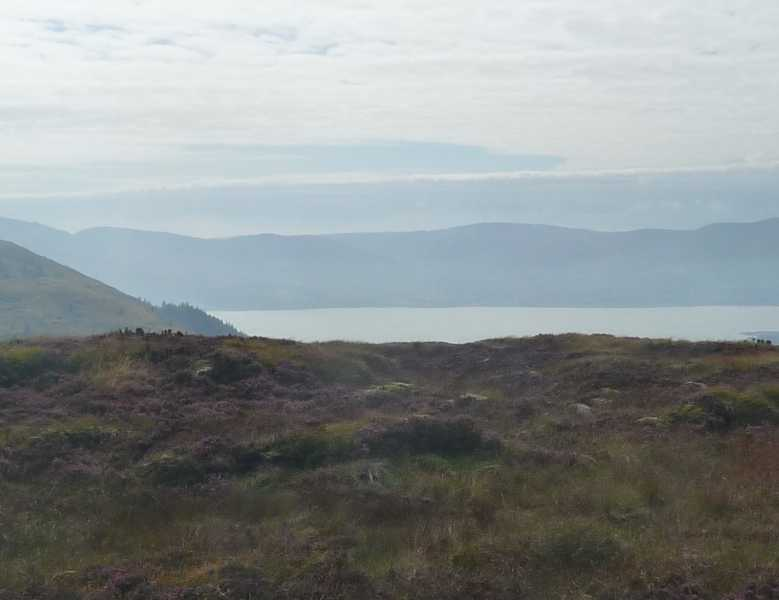 MountainViews.ie Picture about mountain Slieveacarnane in area Mourne Mountains, Ireland