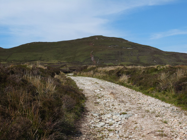 MountainViews.ie Picture about mountain Croaghmore in area Donegal NW, Ireland