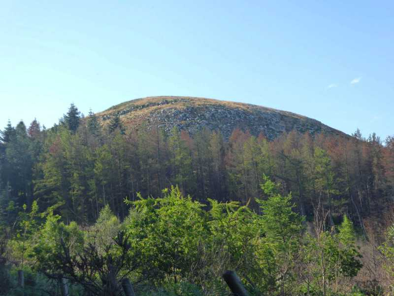 MountainViews.ie Picture about mountain Carrickgollogan in area Dublin/Wicklow, Ireland