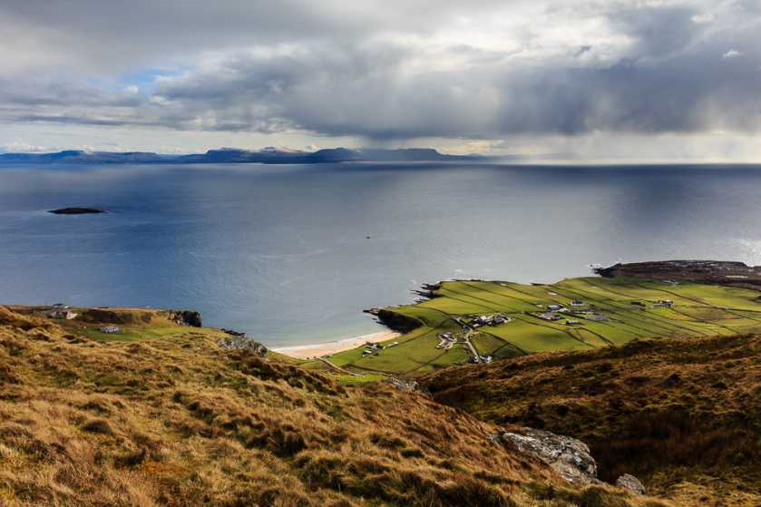 MountainViews.ie Picture about mountain Croaghmuckros in area Donegal SW, Ireland