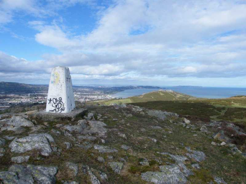 MountainViews.ie Picture about mountain Bray Head Hill in area Dublin/Wicklow, Ireland
