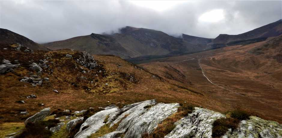 MountainViews.ie Picture about mountain Carrigadav (<i>Carraig an Daimh</i>) in area Central Dingle, Ireland