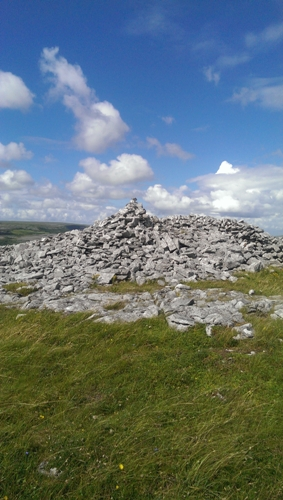 MountainViews.ie Picture about mountain Knockanes in area West Clare, Ireland
