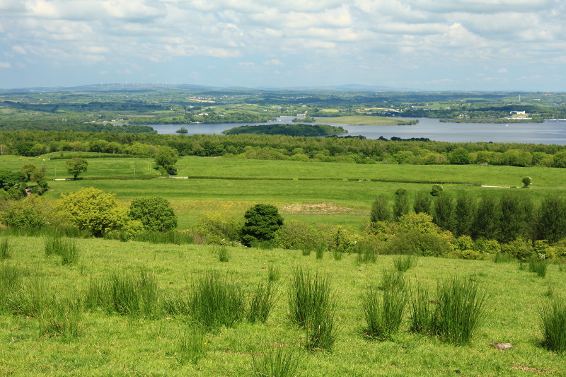MountainViews.ie Picture about mountain Cullen Hill in area Fermanagh/S Tyrone, Ireland