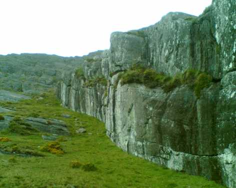 MountainViews.ie Picture about mountain Hungry Hill in area Caha Mountains, Ireland