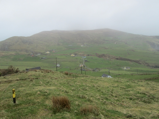 MountainViews.ie Picture about mountain Glanarough Hill in area Slieve Miskish, Ireland