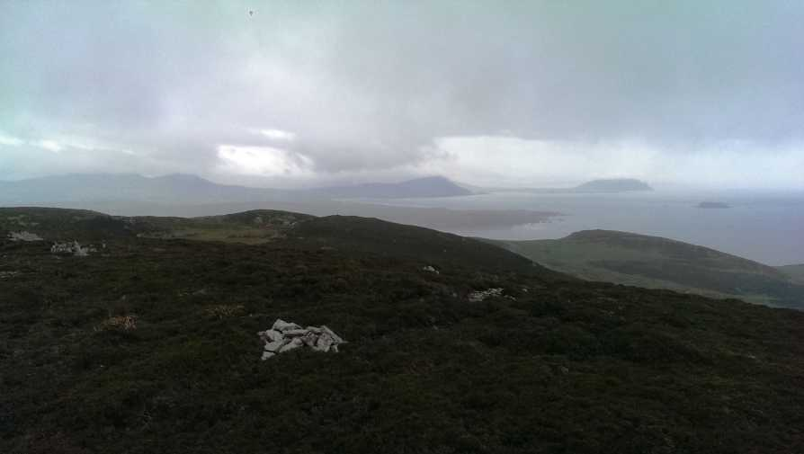 MountainViews.ie Picture about mountain Soldiers hill in area Inishowen, Ireland