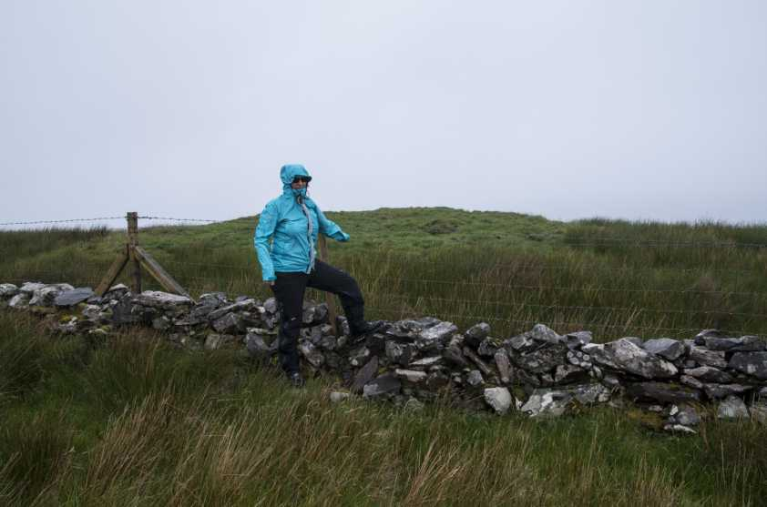 MountainViews.ie Picture about mountain Carrowmore Hill in area Croagh Patrick, Ireland