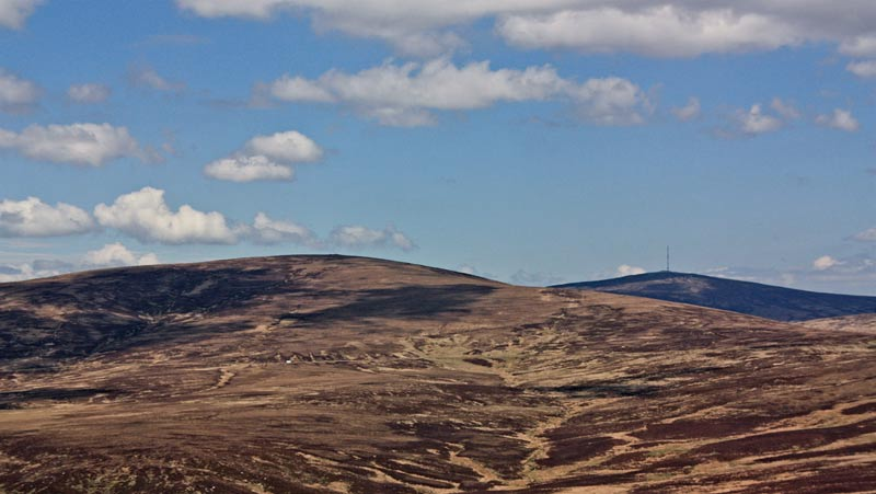 MountainViews.ie Picture about mountain Carrigvore in area Dublin/Wicklow, Ireland