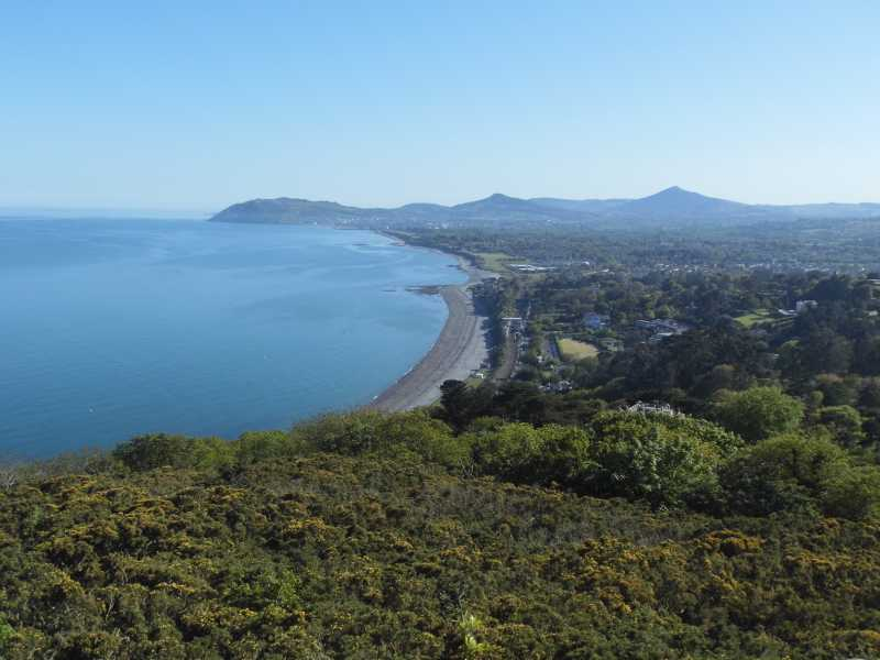 MountainViews.ie Picture about mountain Killiney Hill in area Dublin, Ireland