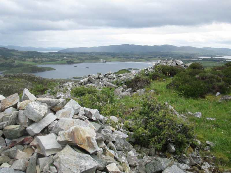 MountainViews.ie Picture about mountain Cashelmore in area Donegal NW, Ireland