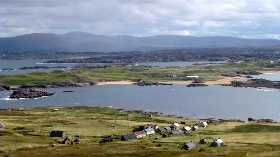 MountainViews.ie Picture about mountain Moylemore in area Donegal NW, Ireland
