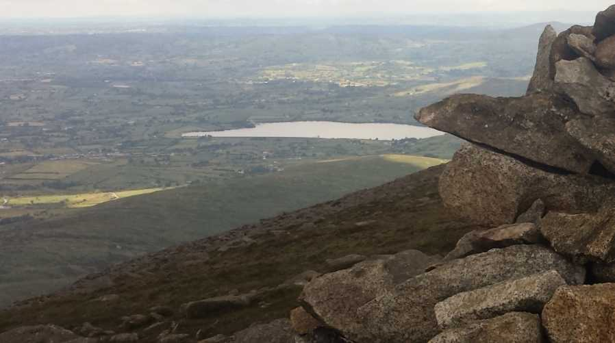 MountainViews.ie Picture about mountain Slieve Meelmore in area Mourne Mountains, Ireland