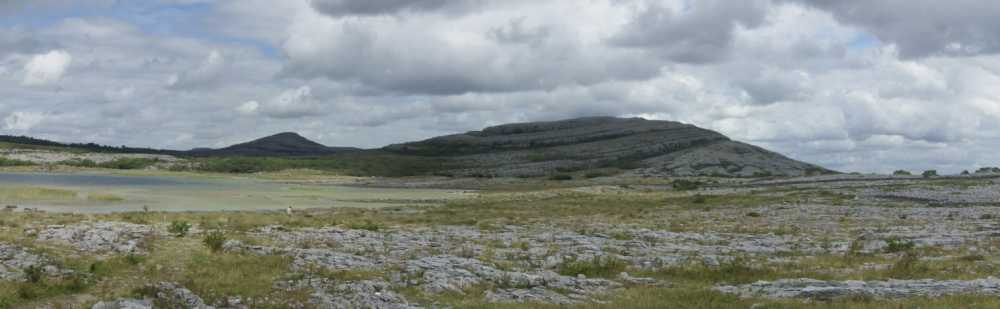 MountainViews.ie Picture about mountain Mullagh More in area West Clare, Ireland