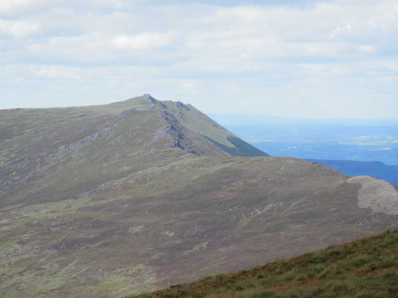 MountainViews.ie Picture about mountain Knockanaffrin South Top (<i>Cnoc an Afrainn ó dheas barr</i>) in area Comeragh Mountains, Ireland