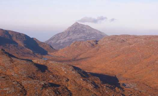 MountainViews.ie Picture about mountain Errigal in area Donegal NW, County Donegal, Ireland