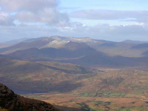 MountainViews.ie Picture about mountain Colly in area Glenbeigh Horseshoe, Ireland