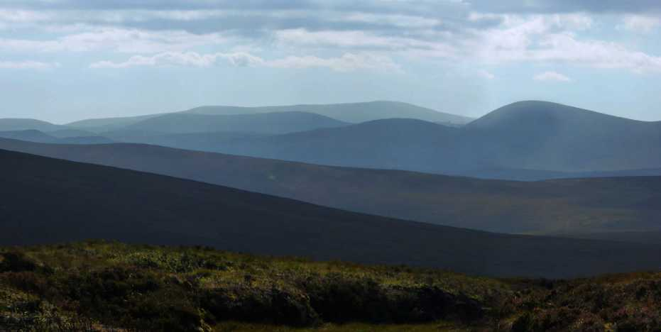 MountainViews.ie Picture about mountain Tonduff East Top in area Dublin/Wicklow, Ireland