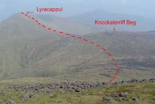 MountainViews.ie Picture about mountain Knockaterriff Beg in area Galty Mountains, Ireland