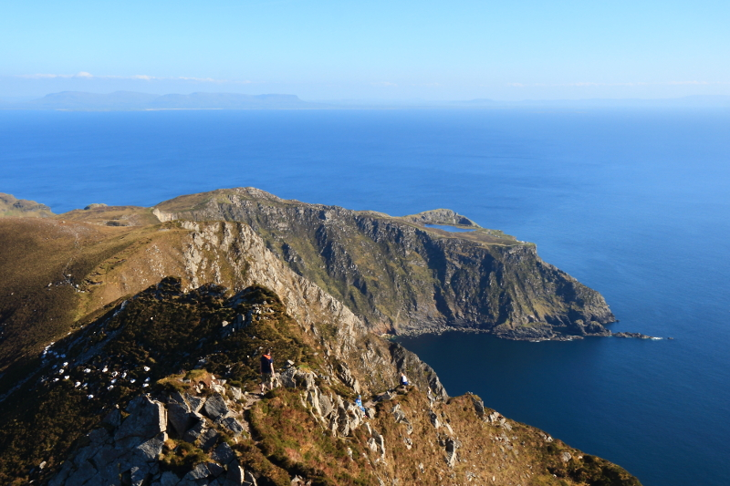 MountainViews.ie Picture about mountain Slieve League South-East Top in area Donegal SW, Ireland