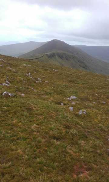 MountainViews.ie Picture about mountain Knockmulanane West Top in area Central Dingle, Ireland