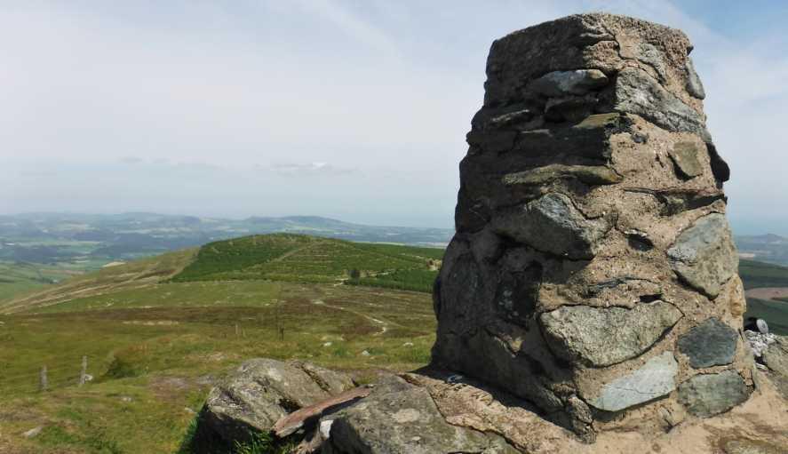 Croghan Kinsella East Top 562 1m mountain, Dublin/Wicklow Wicklow