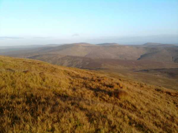MountainViews.ie Picture about mountain Sawel in area Sperrin Mountains, Ireland