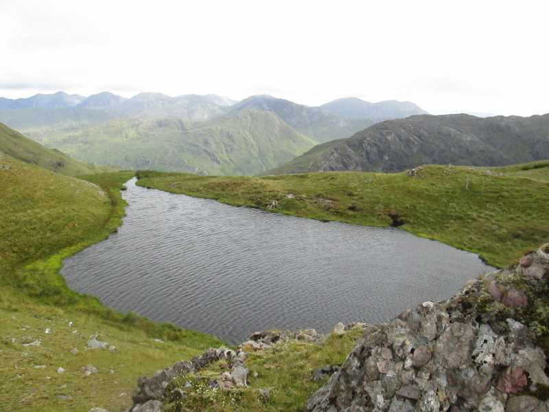 MountainViews.ie Picture about mountain Garraun South-West Top in area Twelve Bens, Ireland