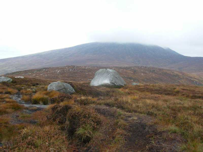 MountainViews.ie Picture about mountain Brockagh Mountain NW Top (<i>Sliabh na Brocaí (mullach thiar thuaidh)</i>) in area Wicklow, Ireland