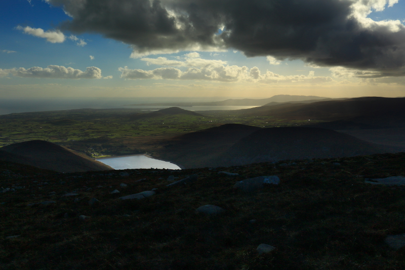 MountainViews.ie Picture about mountain Slieve Binnian North Top in area Mourne Mountains, Ireland