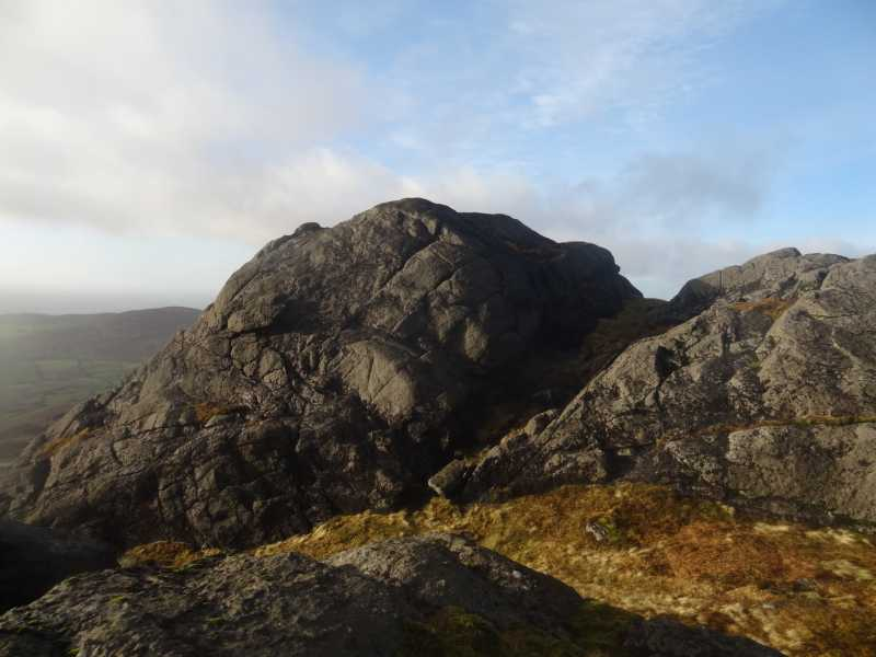 MountainViews.ie Picture about mountain The Eagles Rock in area Cooley/Gullion, Ireland