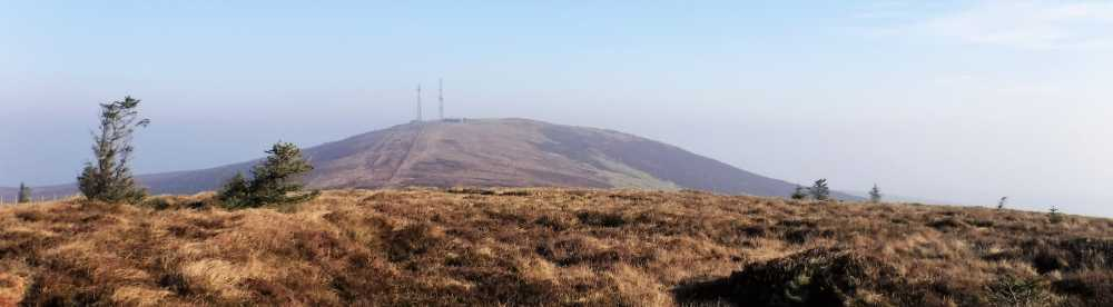 MountainViews.ie Picture about mountain Mullaghcarn South Top in area Sperrin Mountains, Ireland