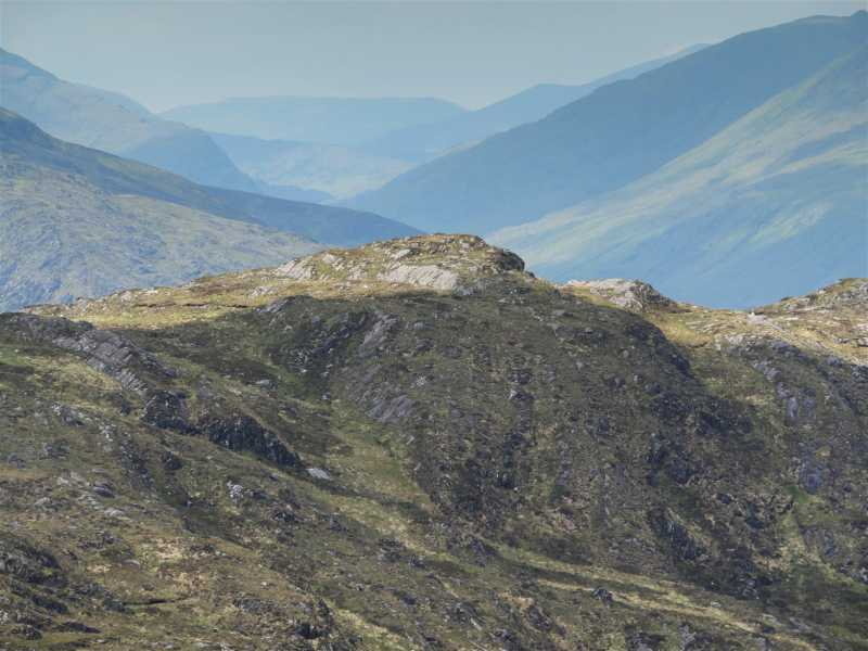 MountainViews.ie Picture about mountain Peakeen Mountain North-West Top in area Mangerton, Ireland