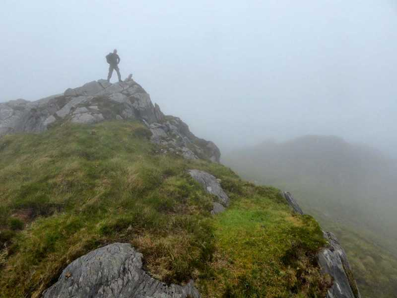 MountainViews.ie Picture about mountain Knocknaveacal South Top in area Caha Mountains, Ireland