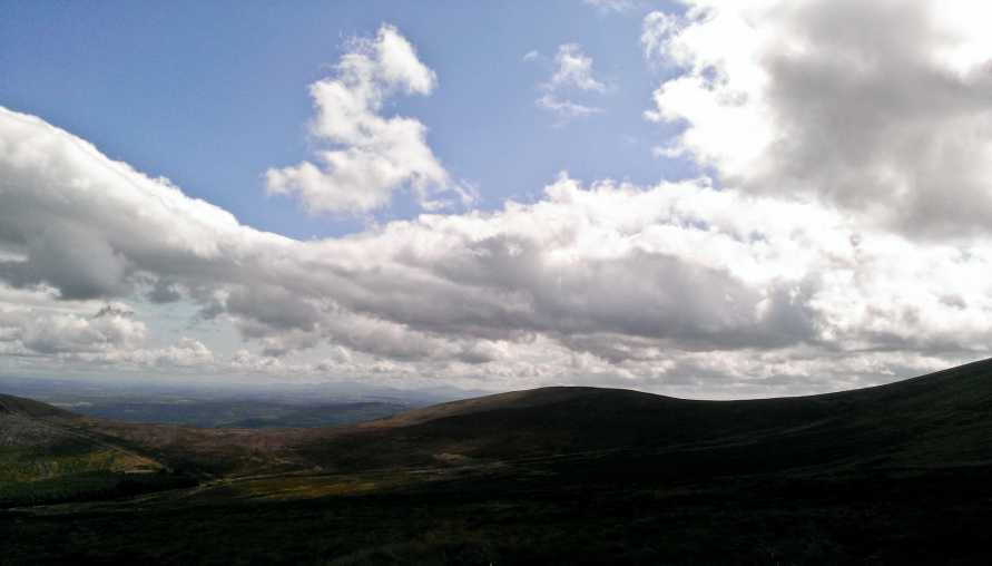 MountainViews.ie Picture about mountain Sheegouna in area South Midlands, Ireland