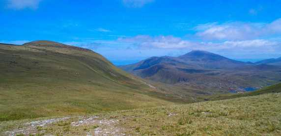 MountainViews.ie Picture about mountain Slievanea NE Top in area Central Dingle, Ireland