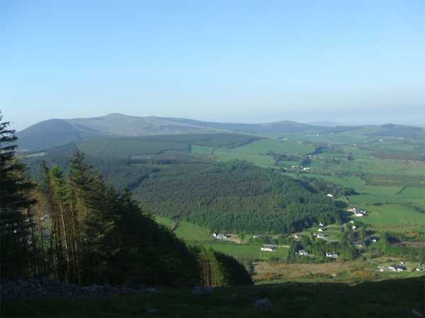 MountainViews.ie Picture about mountain Annagh Hill in area Dublin/Wicklow, County Wexford, Ireland