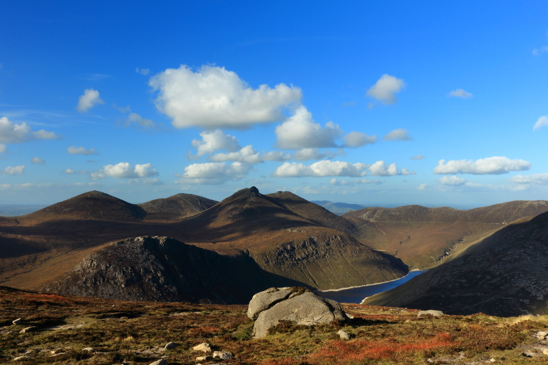 MountainViews.ie Picture about mountain Slieve Binnian North Tor (<i>Sliabh Binneáin (tor thuaidh)</i>) in area Mourne Mountains, Ireland