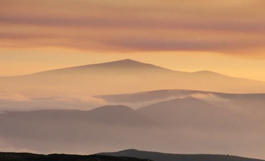 Croaghanmoira 664m mountain, Dublin/Wicklow Wicklow Mountains