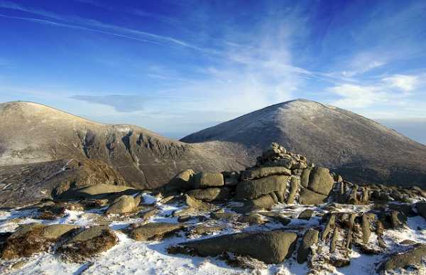 MountainViews.ie Picture about mountain Cove Mountain in area Mourne Mountains, Ireland