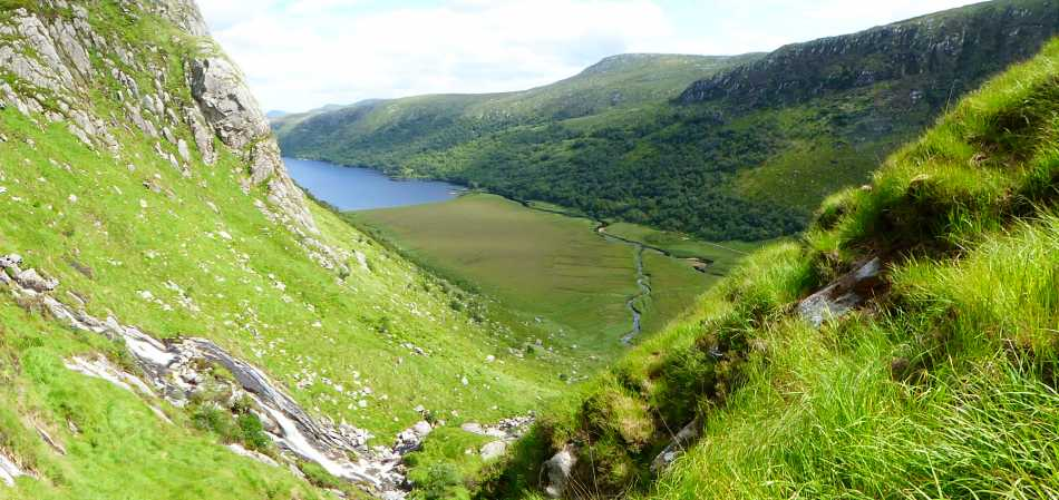 MountainViews.ie Picture about mountain An Dubhais in area Donegal NW, Ireland