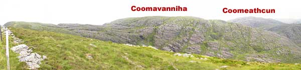 MountainViews.ie Picture about mountain Cnoc Breasail in area Dunkerron Mountains, County Kerry, Ireland