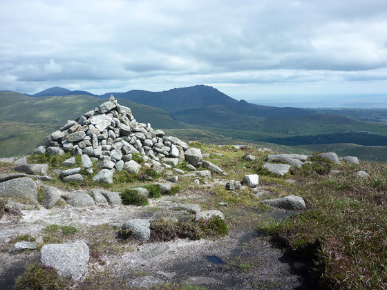 MountainViews.ie Picture about mountain Eagle Mountain in area Mourne Mountains, Ireland