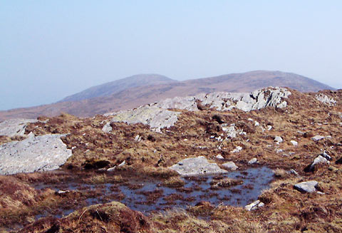 MountainViews.ie Picture about mountain Knocknamanagh in area Shehy/Knockboy, Ireland