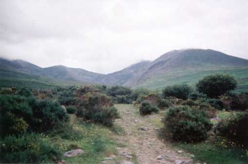MountainViews.ie Picture about mountain Knockbrinnea (E) in area MacGillycuddy