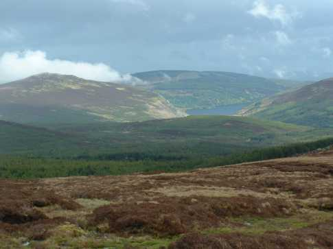 MountainViews.ie Picture about mountain Knocknacloghoge in area Dublin/Wicklow, County Wicklow, Ireland